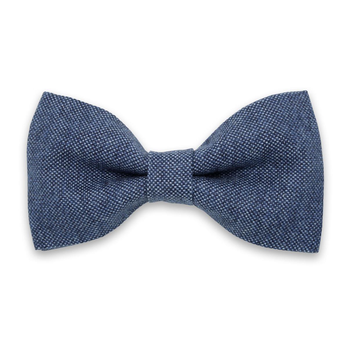Papion bărbătesc pre-înnodat, în nuanțe albastre 10056