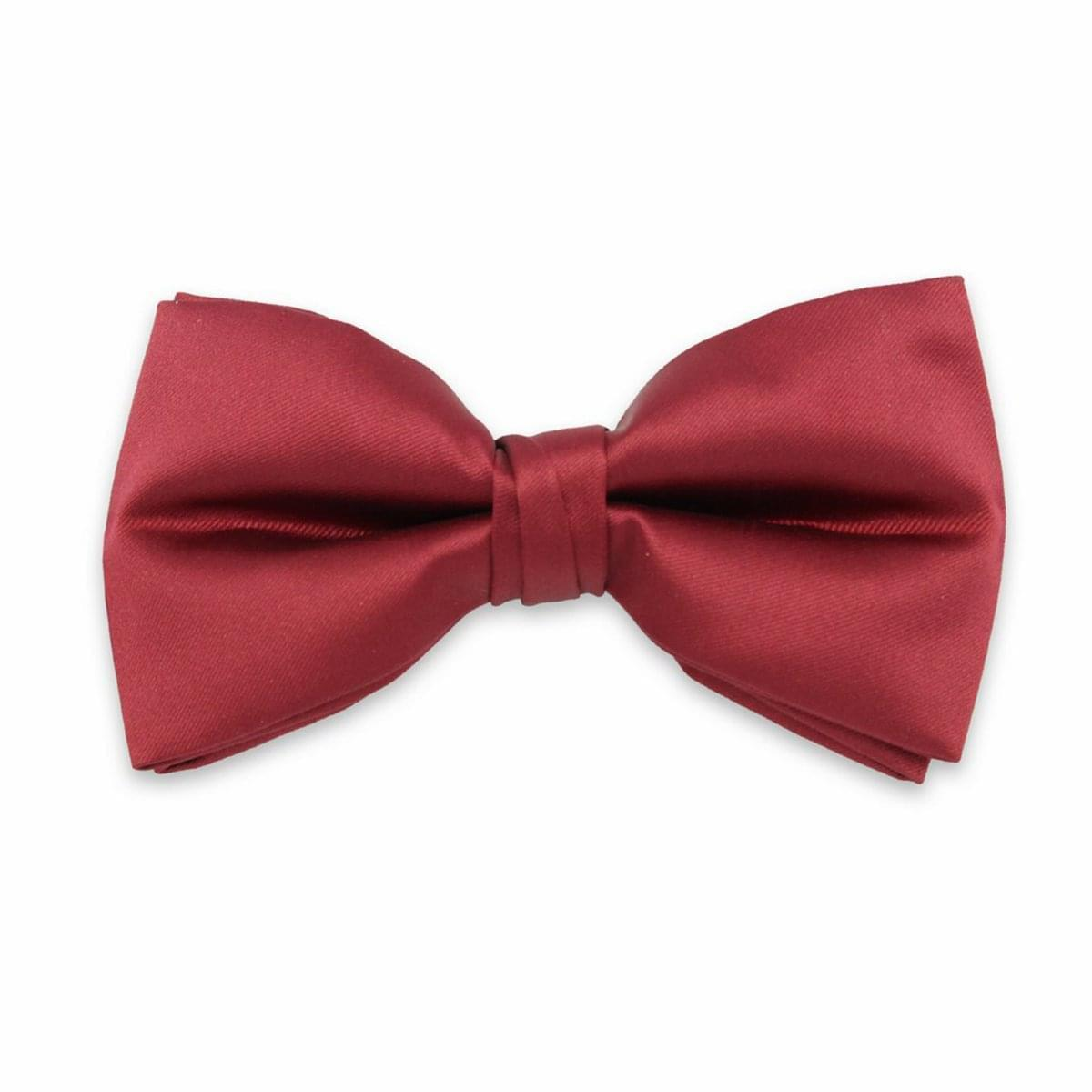 pentru bărbați tethered fluture Willsoor 6112 în vin roșu (burgunds) culoare
