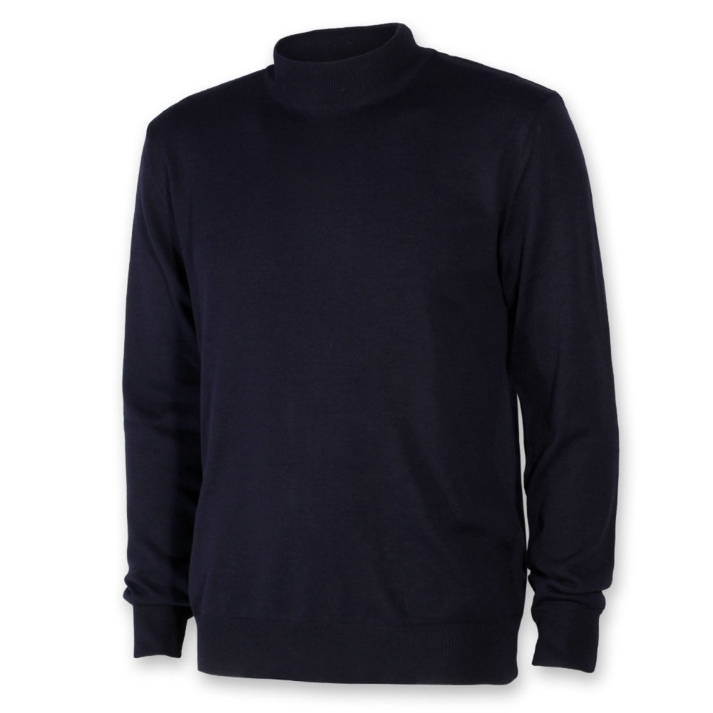 Men sweater with golf Willsoor 8624 in dark blue color