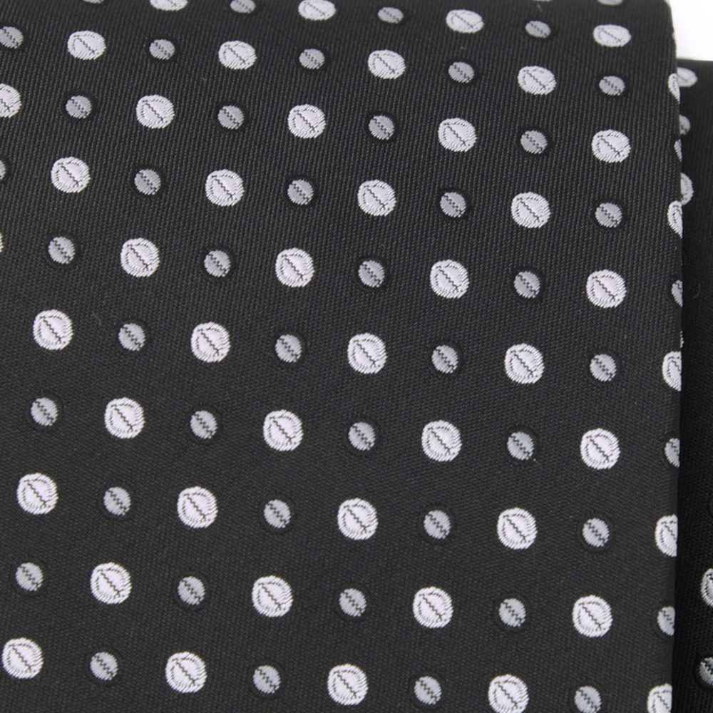 Men's classic dotted tie 9622