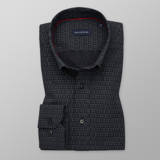 Bărbați cămașă slim fit Willsoor 11596, Willsoor