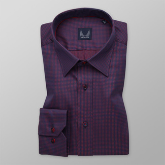 Bărbați cămașă slim fit Willsoor 11602, Willsoor