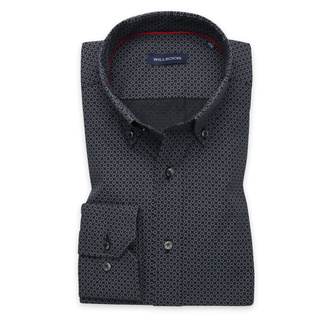 Bărbați cămașă slim fit Willsoor 11608, Willsoor