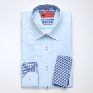 Bărbați cămașă slim fit Willsoor 1717
