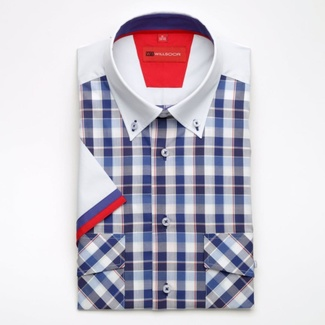Bărbați cămașă slim fit Willsoor 1819
