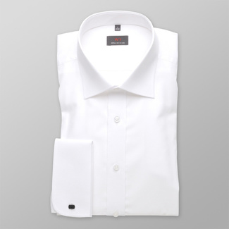 Bărbați cămașă slim fit Willsoor 622
