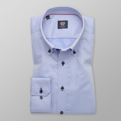 Bărbați cămașă slim fit Willsoor Londra 8903, Willsoor