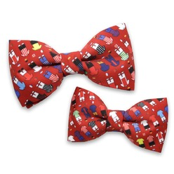 Father&son bowtie set 9047, Willsoor