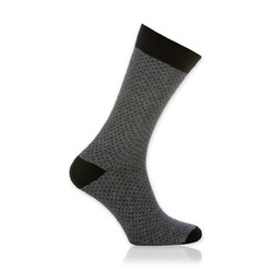Men socks Willsoor 9508 in gray color, Willsoor