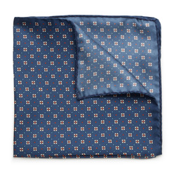 Pocket square with floral pattern 9630, Willsoor