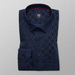 Bărbați cămașă slim fit Willsoor Londra 9652, Willsoor