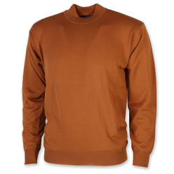Men's sweater with golf Willsoor in brown color 9654, Willsoor