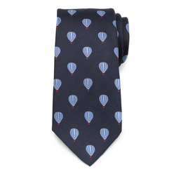 Men's silk tie with balloons pattern 9785, Willsoor