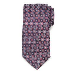 Classic tie with floral pattern 9789, Willsoor