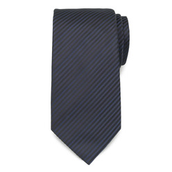Dark blue tie with strips 9795, Willsoor